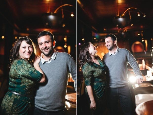 Detroit Cliff Bells Engagement Photos
