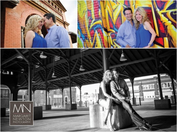 Eastern Market Detroit Engagement Photos