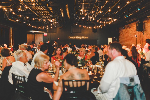A Detroit Opera House Rooftop Wedding