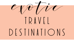 Honeymoon Travel Destinations