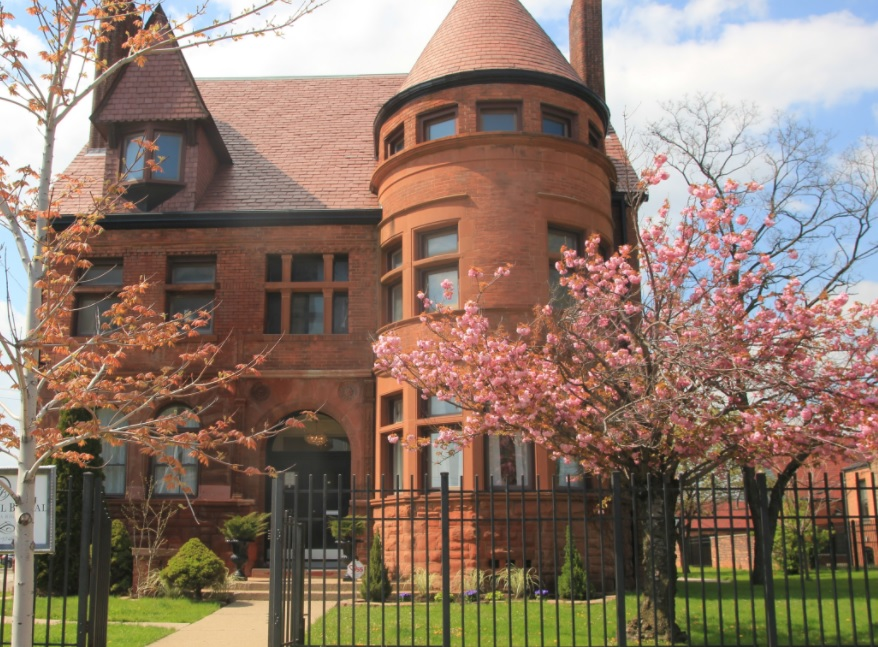 Bagley Mansion, Detroit, Bridal Boutique