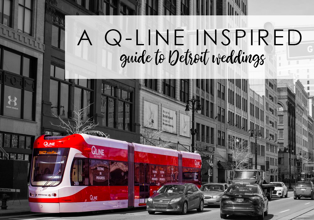 QLine Detroit Wedding